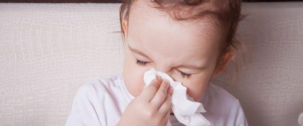 טיפול טבעי באף סתום אצל ילדים